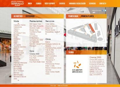 Selector de tiendas con mapa interactivo