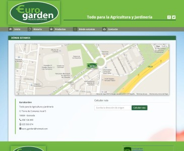 EuroGarden - D�nde estamos